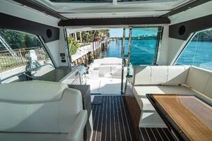 48' Cruisers Yachts 48 Cantius 2012 Upper Salon Facing Aft