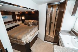 48' Cruisers Yachts 48 Cantius 2012 Master Stateroom Aft with Head