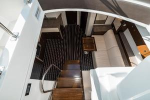 48' Cruisers Yachts 48 Cantius 2012 Lower Salon Entrance 2