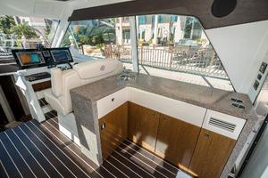 48' Cruisers Yachts 48 Cantius 2012 Upper Salon Stbd Entertainment