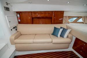39' Intrepid 390 Sport Yacht 2009 Settee/Fold-out Berth Port