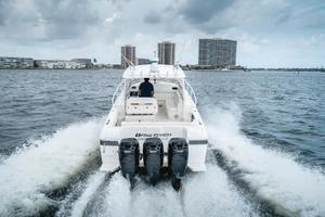 39' Intrepid 390 Sport Yacht 2009 Aft
