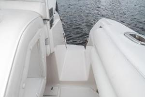 39' Intrepid 390 Sport Yacht 2009 Transom Door