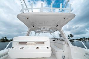 39' Intrepid 390 Sport Yacht 2009 Fiberglass Hard Top