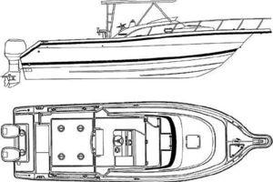 28' Pursuit 2870 Offshore Center Console 1997