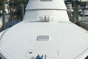 55' Viking Convertible 2000 Docked #2