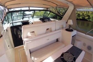 35' Tiara Express 2001 Cockpit Forward to Starboard