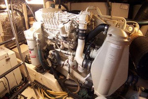 35' Tiara Express 2001 Port Engine