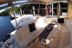 35' Tiara Express 2001 Cockpit to Port Aft
