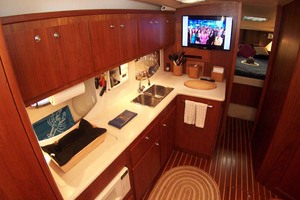 35' Tiara Express 2001 Galley to Port