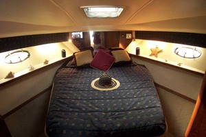 35' Tiara Express 2001 Island Queen Berth in Master Stateroom
