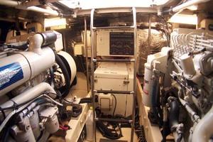 photo of Tiara-Express-2001-ARGO-Palm-City-Florida-United-States-Engine-Room-Aft-1100841