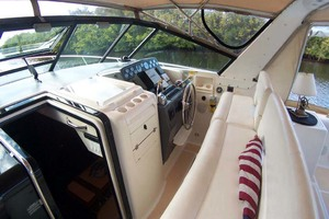 35' Tiara Express 2001 Helm to Starboard