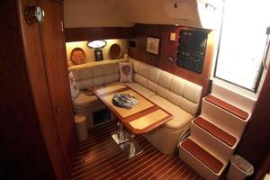 35' Tiara Express 2001 Convertible Settee to Starboard