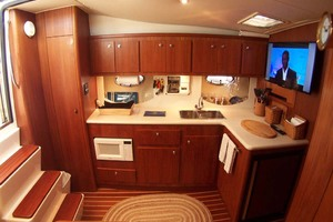 35' Tiara Express 2001 Galley