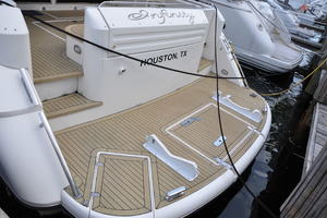 65' Fairline Squadron 1995 Swim Platform