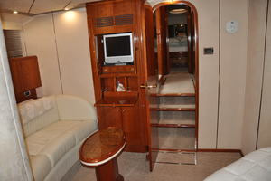 65' Fairline Squadron 1995 Master Looking Starboard