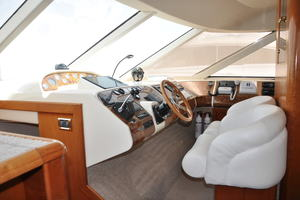 65' Fairline Squadron 1995 Lower Helm