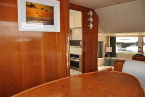 65' Fairline Squadron 1995 Dining Area Looking Towards Galley