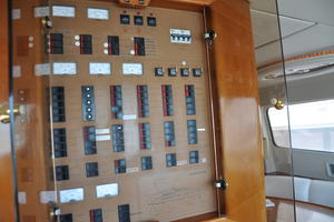 65' Fairline Squadron 1995 Electrical Panel