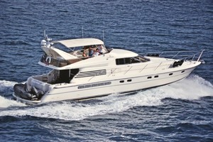 65' Fairline Squadron 1995 Cruising