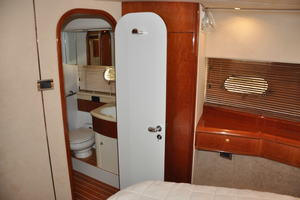 65' Fairline Squadron 1995 VIP Portside Head Access