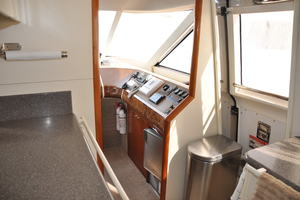 65' Fairline Squadron 1995 Galley Access Door