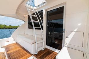 58' Riviera 58 Flybridge 2007 Stairs to Flybridge