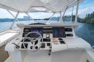 63' Riviera 58 Flybridge 2007 Helm 2