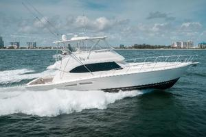 58' Riviera 58 Flybridge 2007 Stbd Profile