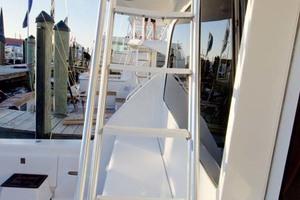 57' Ocean Yachts 57 Ss 2006 Ladder to Bridge
