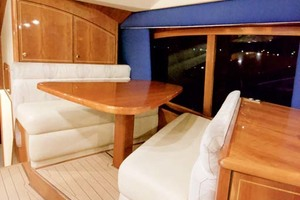 57' Ocean Yachts 57 Ss 2006 Dinette