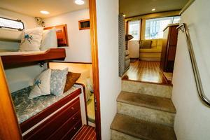 47' Cabo 47 Flybridge 2002 Companionway to Stbd Stateroom