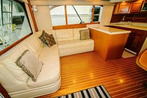 47' Cabo 47 Flybridge 2002 Port L-Shaped Seating