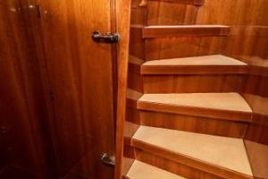 55' Monte Fino 55 2000 Walk-In Engine Room Access