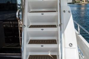 55' Monte Fino 55 2000 Stairs to Flybridge