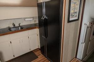 54' Hatteras 54 Motor Yacht 1988 Full Refrigerator