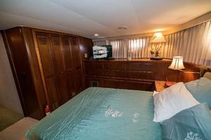 54' Hatteras 54 Motor Yacht 1988 Master Stateroom Stbd