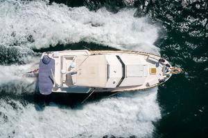 54' Hatteras 54 Motor Yacht 1988 Overhead