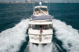 54' Hatteras 54 Motor Yacht 1988 Stern