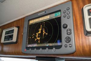 54' Hatteras 54 Motor Yacht 1988 Radar