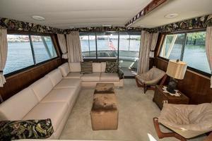 54' Hatteras 54 Motor Yacht 1988 Salon Aft