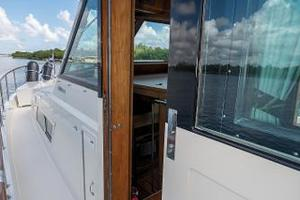 54' Hatteras 54 Motor Yacht 1988 Bow Access through Port/Stbd Doors