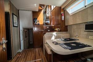 54' Hatteras 54 Motor Yacht 1988 Aft from 3rd Stateroom