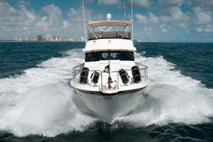 54' Hatteras 54 Motor Yacht 1988 Bow