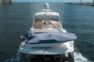 54' Hatteras 54 Motor Yacht 1988 Tender with Davit