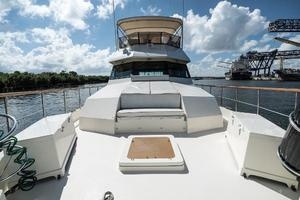 54' Hatteras 54 Motor Yacht 1988 Bow Facing AFt