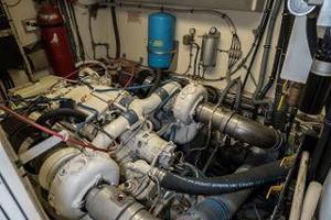 54' Hatteras 54 Motor Yacht 1988 Stbd Engine 1