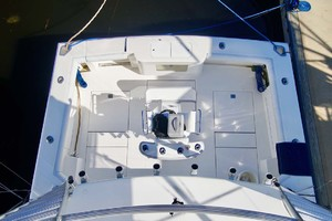 45' Cabo 45 Open Express 1998 Cockpit