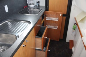 41' Custom TLD New Zealand Power Cat 41 2004 Galley